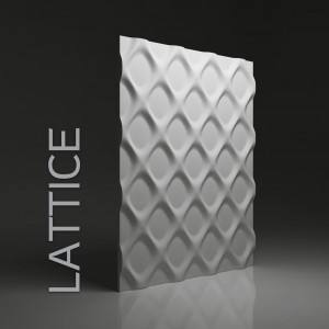 Panele 3D DUNES LATTICE