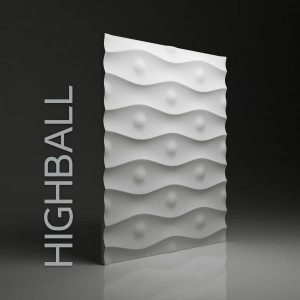 Panele 3D DUNES HIGHBALL