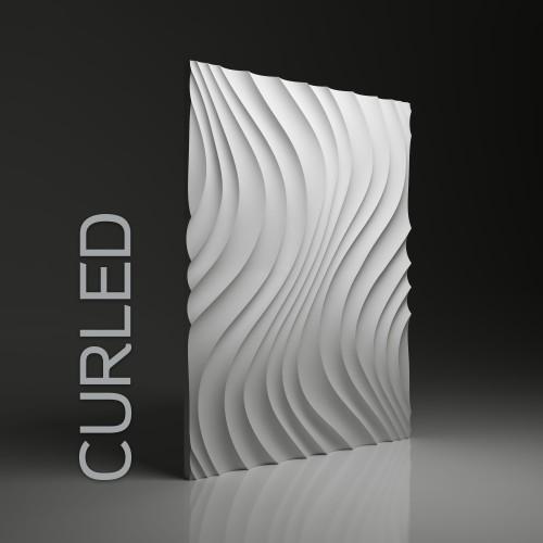 Panele 3d Dunes Curled
